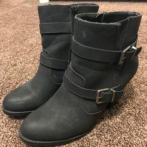 JustFab booties